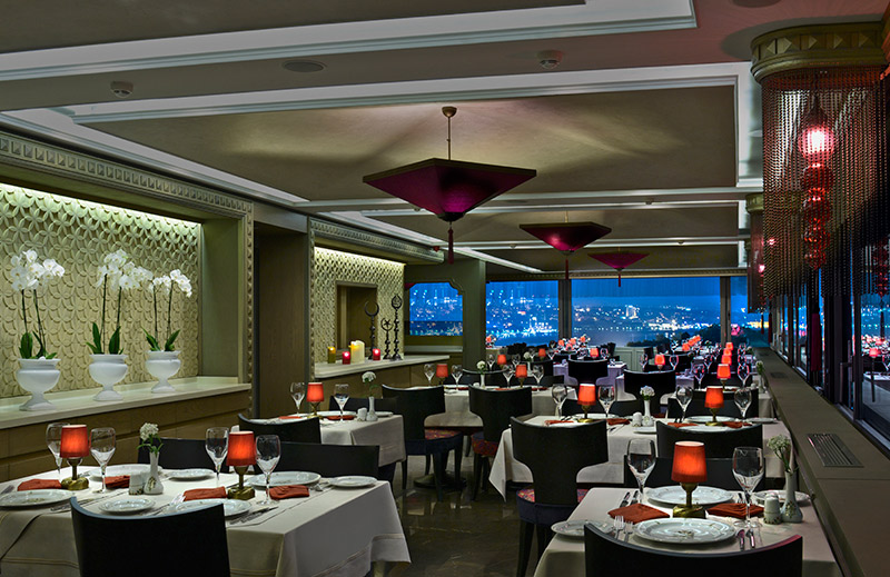 OLIVE ANATOLIAN RESTAURANT - Dinning Room with Bosphorus View